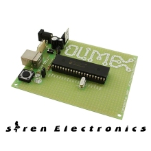 1 pcs x PIC USB 4550 Development Boards & Kits - PIC / DSPIC PROTOTYPE BRD FOR PIC18F4550 W/USB PIC-USB-4550