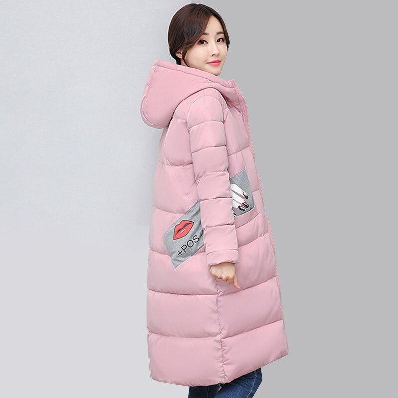 New Long Parkas Female Womens Winter Jacket Coat Thick Cotton Warm hooded Jacket Womens Outwear Parkas Plus Size Coats QH0604 Îäåæäà è àêñåññóàðû<br><br>