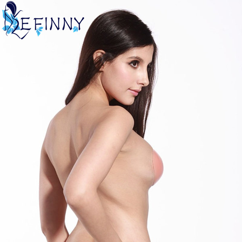 Sexy Strapless Backless Invisible Adhesive Silicone Gel Bra Breast Pad Cup A-D Newest 12