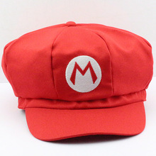 5 Color Styles Super Mario Bros Mario Luigi Wario Waluigi Cosplay Cotton Hat Cap For Adult Free Shipping(China)