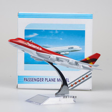 Freeshipping Avianca Boeing 747 Airliner Airbus A380 A330 1/400 Scale Diecast Metal Plane Finished Model Toy For Collect Gift