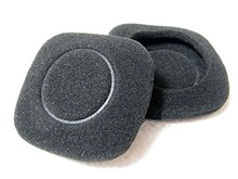 1 Pair Replacement Earpads Ear Pads Ear Cushion Cups Cover for Logitech H150 Headphones Headset ( Black )