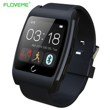 FLOVEME D6 Intelligent Smart Watch Bluetooth 4.0 Sync Notifier For iPhone iOS Android Smartwatches Health Monitor WristWatch