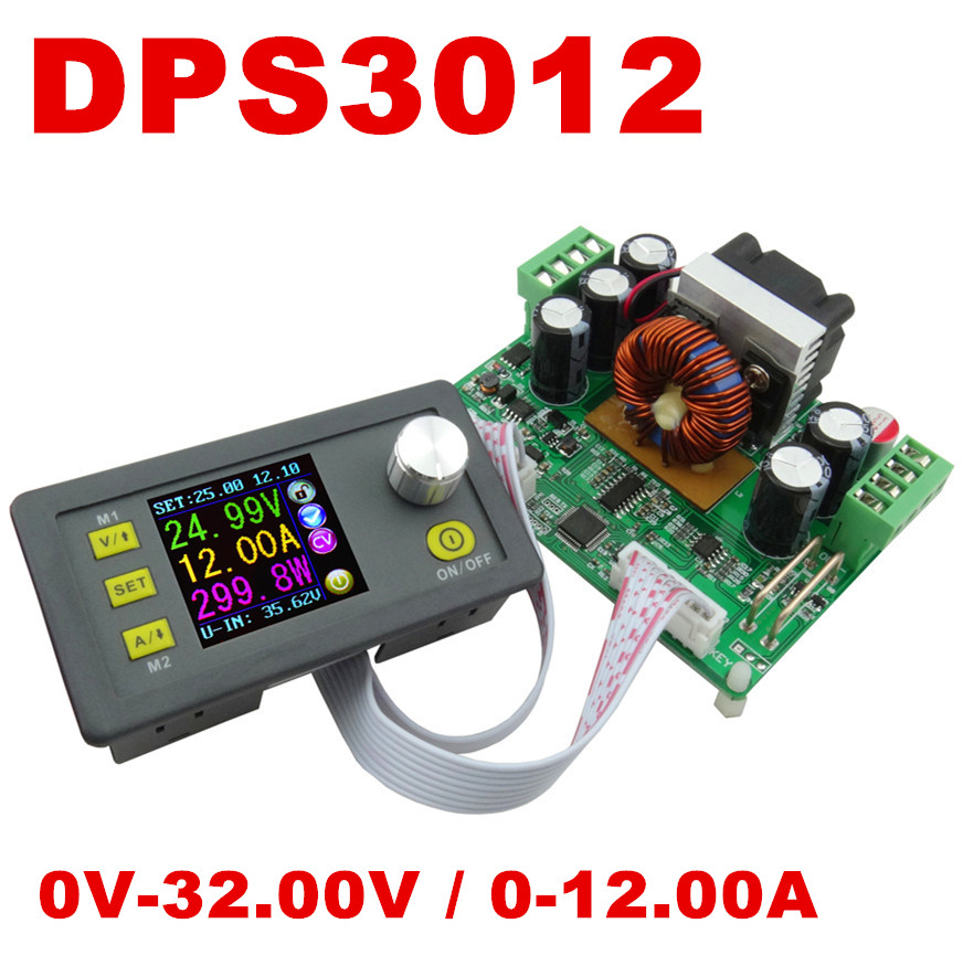 5pcs DPS3012 regulator converter color LCD Display Constant Voltage current tester Step-down Programmable Power Supply module<br><br>Aliexpress