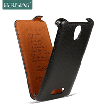 For Lenovo A2010 Case Luxury Case For Lenovo A2010 A 2010 Lichee Flip Leather Cover Mobile Phone Bag Ferising Brand P006(China)