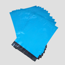 Premium Quality Blue Plastic Mailers Custom Size Bags Blue Poly Posting Courier Envelope Pouches