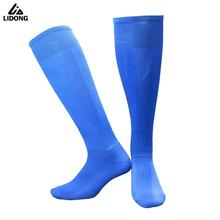 2017 New Top Quality Men Women Soccer Socks Stretch Compression Sox Kids Boys Sports Running Football Stokings Basketball Socks