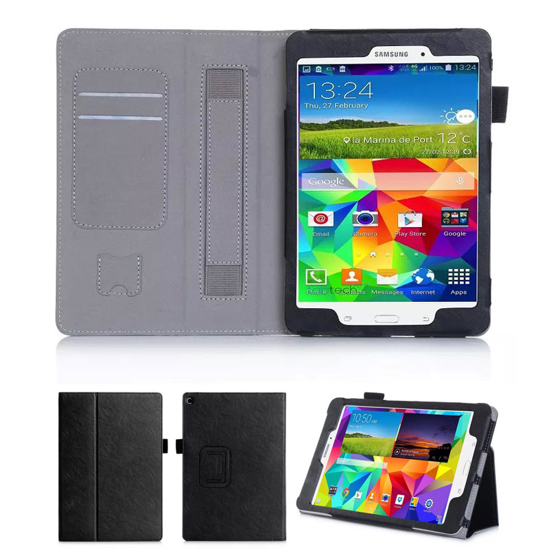 New arrive Case For Samsung GALAXY Tab A 9.7 P550 Tablet 10.1 inch Stand Folio Leather Cover Case With Card Slot+Hand Holder<br><br>Aliexpress