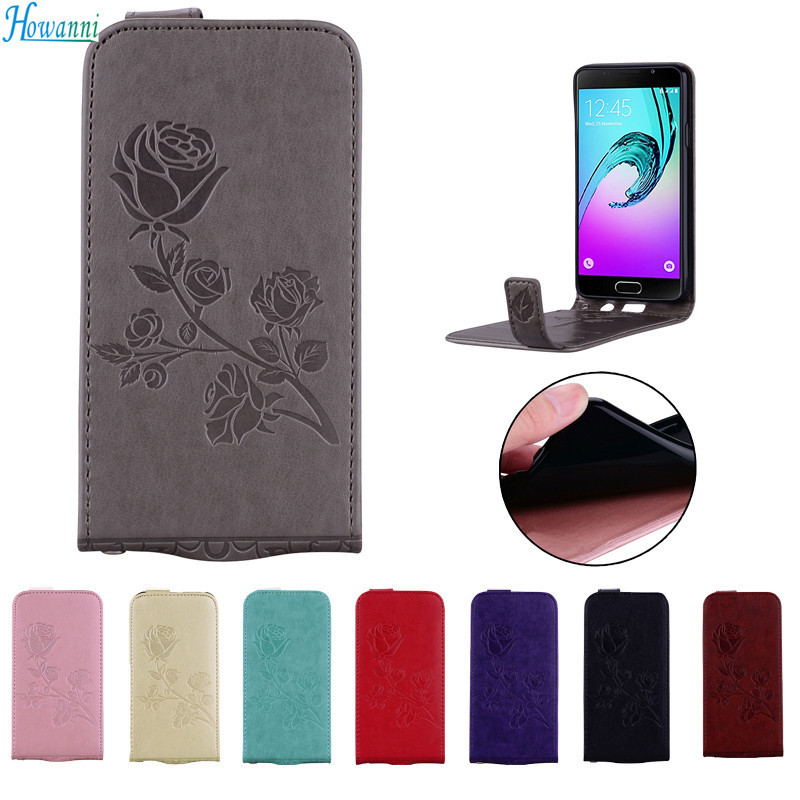 Howanni Rose Leather Case Lenovo K5 Case Flip 5.0 Inch Wallet Stand Cover Lenovo Vibe K5 K5 Plus Lenovo K5 Plus Case