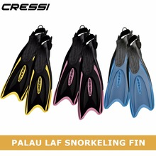Cressi Palau LAF Diving Fins Swimming Snorkeling Fin for Adults and Kids Children Blue Yellow Black