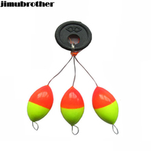 23mm New Seven-star Oval mini fishing float Space beans Easy Use Floater are put on the like a stopper and be fixed 1set/lot