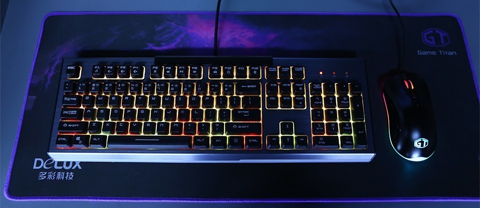 Backlight Russian Color Gamer 7