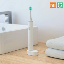Buy Xiaomi Mijia Sound Waves Smart Toothbrush Replaceable Waterproof IPX7 Wireless Sonic Electric Toothbrush Daily necessities White for $14.71 in AliExpress store