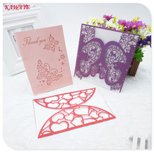 10pcs Vintage Elegant Birthday Greeting Card Romantic Wedding Invitation Card Anniversary Celebration Party Supplies 6ZH91(China)