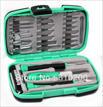 Free Shipping PD-395A Proskit Multifunctional knife woodworking tools Set for carving tools Wood carving tools the knife kit(China)