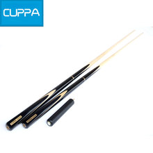 High Quality Cuppa 3/4 Snooker Cues Stick 9.8mm Billiard Cues Black China 2016