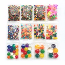 12 Styles Pearl Shape Crystal Soil Mud Hydrogel Gel Growing Glitter Orbiz Water Balls Water Beads Set Home Decor(China)