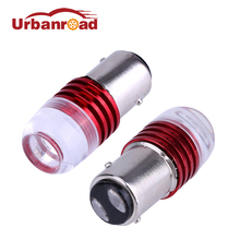2pcs 1157 Bay15d p21/5w Strobe Led Bulb For Cars 1157 Red Cob Led Stop Brake 12v Turn Signal Light Daytime Signal Lamp Bulbs Red