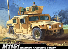 ACADEMY 13415 1/35 Scale M1151 Enhanced Armament Carrier Plastic Model Building Kit(China)