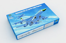 Free shipping 1/72 Russian Su-27 Early type Fighter Assembly Model kits Modle building Trumpeter scale(China)