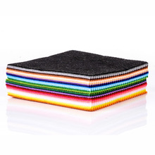 41pcs Colorful Crafts Felt Fabric 1mm Thickness Felt Sheets Rainbow DIY Craft Polyester Wool Blend Fabric Kit
