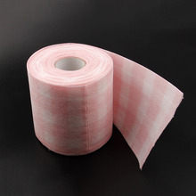 New Fashion 1 Meter/Package 5pcs Nail Polish Remover Pads Two Roller Nail Art Cleaner Wipe Wraps Tools
