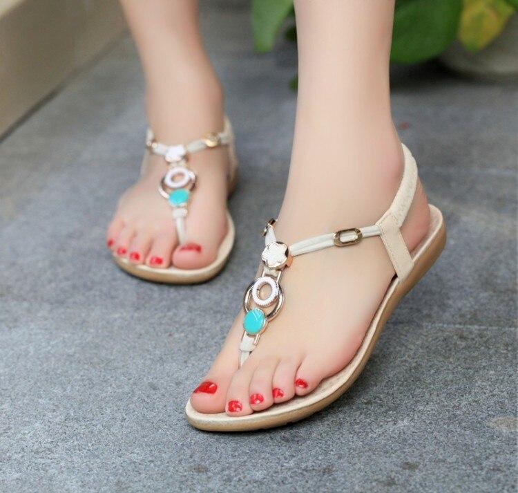 Women sandals 2016 comfort sandals women Summer Classic fashion 36-40 flat sandals<br><br>Aliexpress
