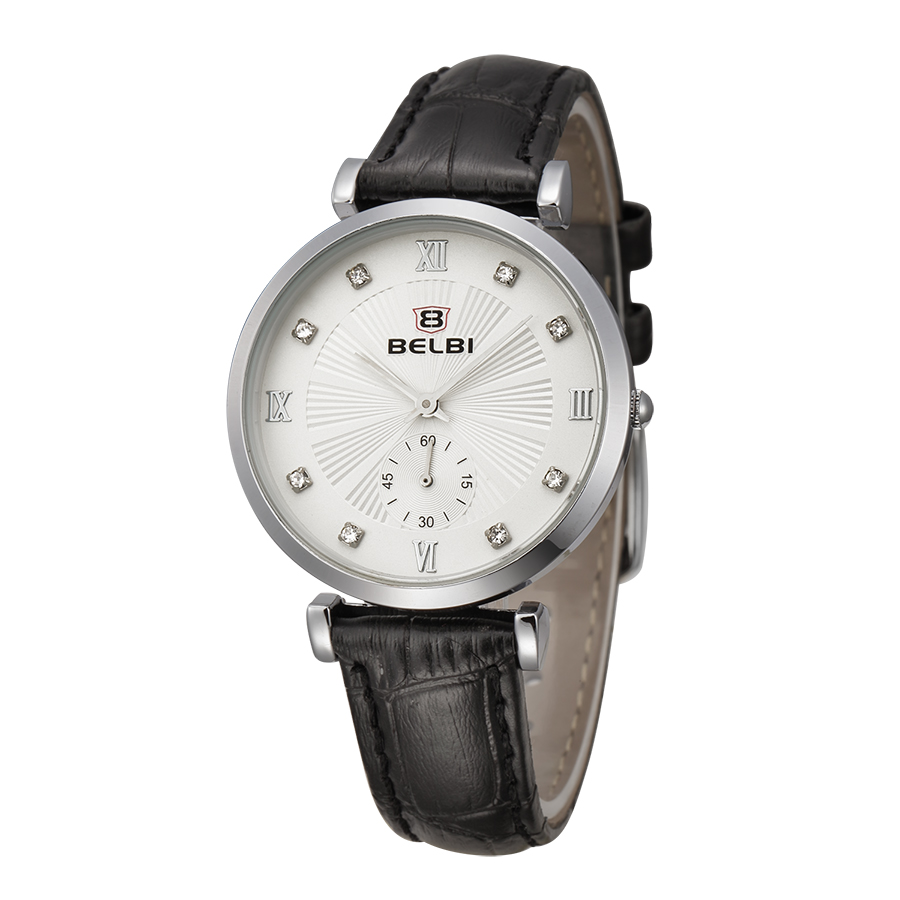 Relogio Feminino Womens Watches Top Brand Luxury Diamond Ladies Waterproof Quartz Silver Watches BELBI Best Gift for your lover<br><br>Aliexpress