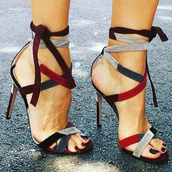 fashion summer sandals women gladiator high heel sexy sandal suede leather thin heel brand sandal<br><br>Aliexpress