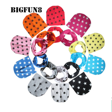 BIGFUN8 2pcs/set Cotton Baby Hat+Scarf Spring Autumn Winter  Print Stars Baby Cap Boys Girls Infant Toddlers Kids Hat KY04