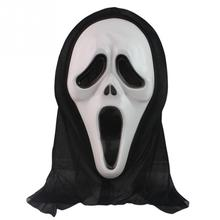 New Halloween Mask Masquerade Latex Party Dress Skull Ghost Scary Scream Mask Face Hood