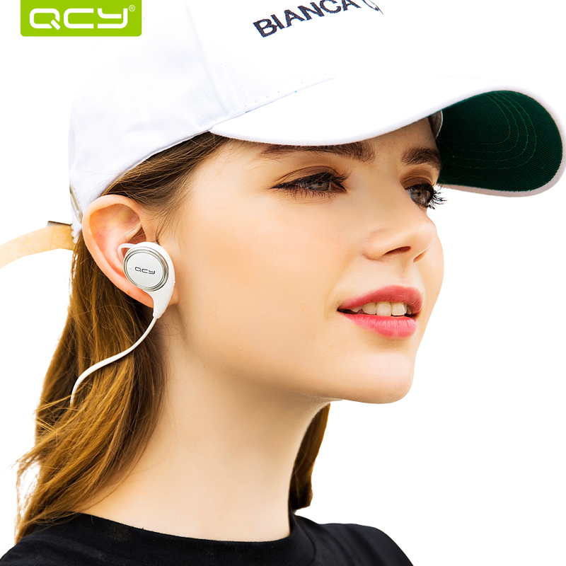 QCY QY8 Sports Wireless Bluetooth 4.1 Earphones Stereo Earphones Sweatproof Earbuds Aptx HIFI with Mic Calls Mp3 Music earbuds(China)