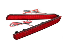 by dhl or ems 100sets Rear Bumper Reflectors Tail Brake Turning Light For Mazda 3 04-09 Parking Warning Night Driving Fog Lamp(China)