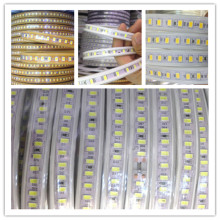 1M 120led SAMSUNG CHIP New LED Strip Light SMD5630 Living Room Ultra Bright AC220V Tape LEDs Lightings IP65 Waterproof 10W/M