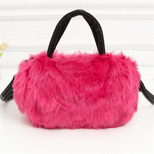 Superior Multicolor Acrylic Bag Women with Single Strap Messenger Tote Handbags Ladies Fur Shoulder Bags Gift Crossbody Clutch