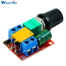 Mini 5A PWM Max 90W DC Motor Speed Controller Module 3V-35V Speed Control Switch LED Dimmer Hot Sale(China)