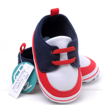 Fashion Winter  high-grade black and blue plaid baby warm  soft bottom baby shoes