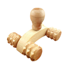 4 Wheels Buttock Hip Head Back Leg Massager Roller Rolling Body Relax Promote Blood Circulation -43(China)