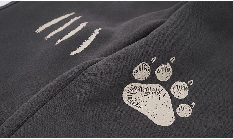 Autumn winter girls clothing set letter printed kids suit set casual 2pcs fleece sport suit for boys tracksuit children clothing (9)