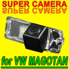 For Philips VW Magotan Polo car color parking rear view reversing back up camera Security Kit 170degree for Navigation GPS