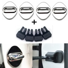 8pcs Door Lock Cover case for Mazda 3 mazda 6 CX 5 CX-5 CX3 323 protect accessories car styling(China)