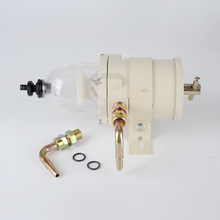 "Turbine fuel filter water separator no original Racor NEW500FH 3/4""-16UNF diesel engine 2010PM 4runner  vehicle easy to install"