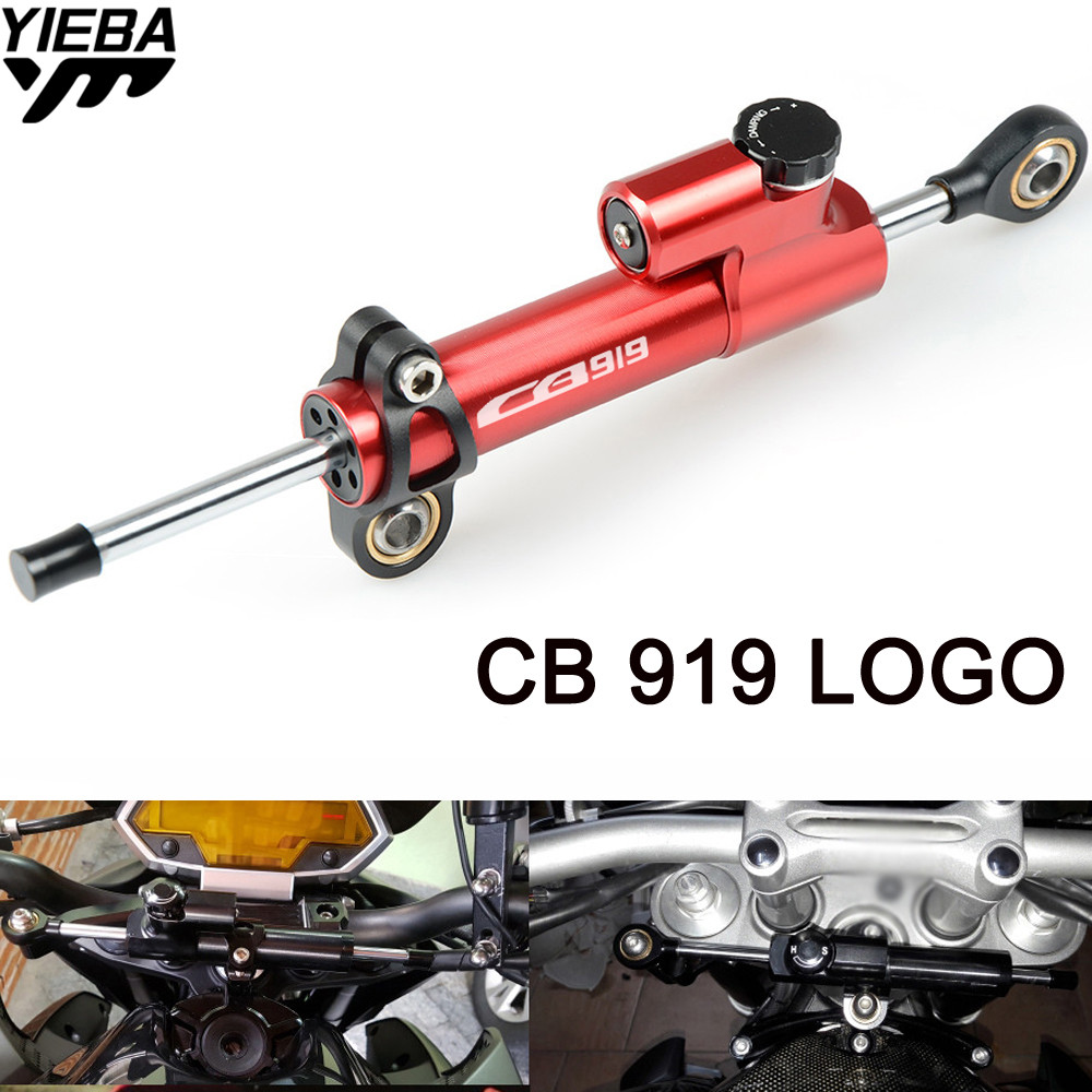 Motorcycle Accessories Steering Stabilize Damper Mount Motorbike Damper Steering FOR HONDA CB919 CB 919 CB900F With CB919 LOGO