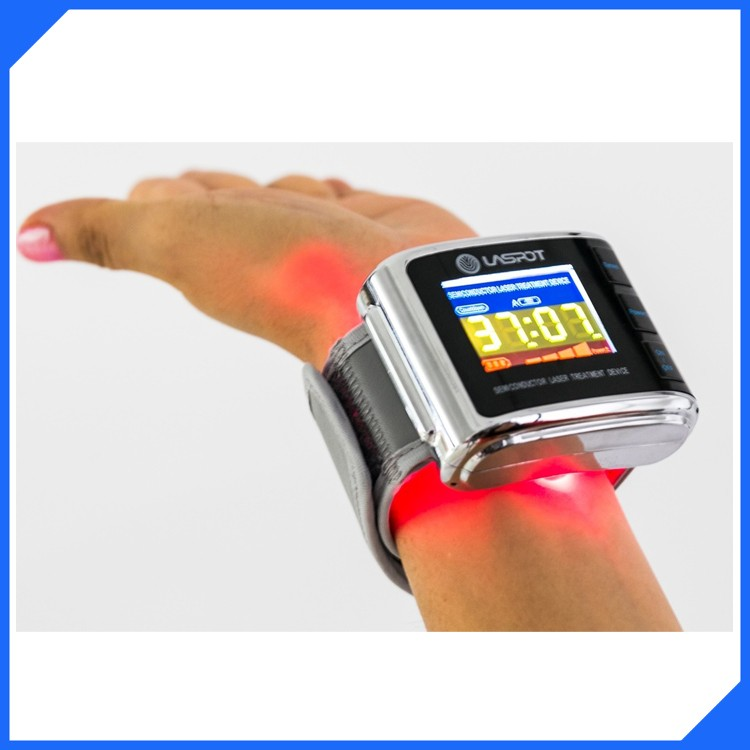 LASPOT GD07-W-1 laser watch pain management equipment laser blood cleaner(China (Mainland))