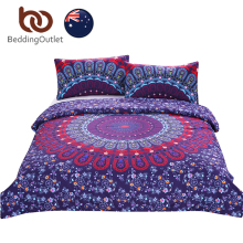 BeddingOutlet Love Stretches Bedding Bohemian Style Retro Duvet Cover and Pillowcase Twill AU Single Double Queen AU SIZE Hot(China)