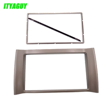 Silver Color Car refitting DVD frame Dash Kit Frame Audio frame Car Radio Fascia for CHERY Kimo (A1) 07+ / J1 (A1) 09+ #1793