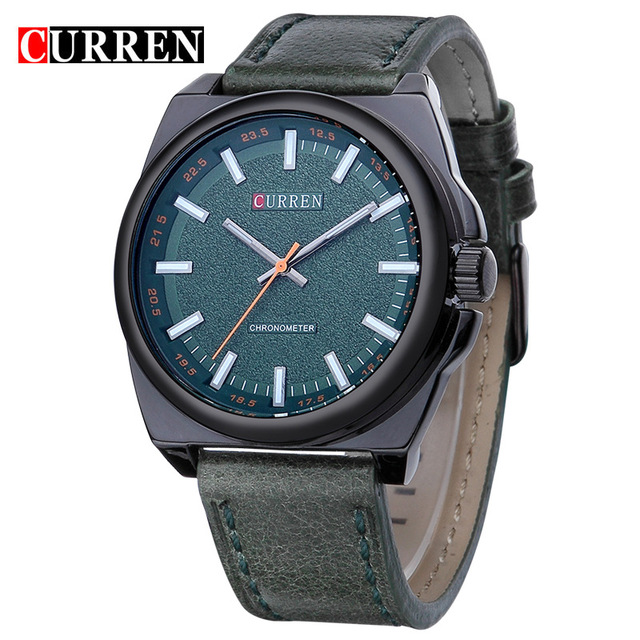 Relogio Masculino Fashion Montre Homme Reloj Hombre Sport Quartz Watch Male Leather Stap Wristwatches Mens Curren Watches 8168<br><br>Aliexpress