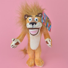 Madagascar Lion Plush Toy, Alex Baby Gift, Kids Doll Wholesale with Free Shipping