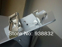 Manufacture 55mm length flat metal spring clips for LED downlight