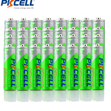 40 Pieces PKCELL Cycles1200times Pre-charged NIMH 1.2V 850mAh AAA Rechargeable Battery(China)